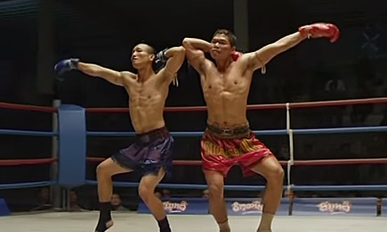 Two Thai Boxers
