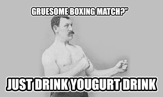 Gruesome Boxing Match