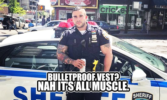First hot cop pick up line