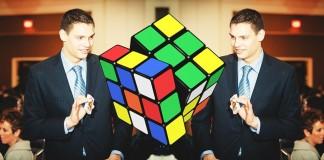 rubik's cube magician
