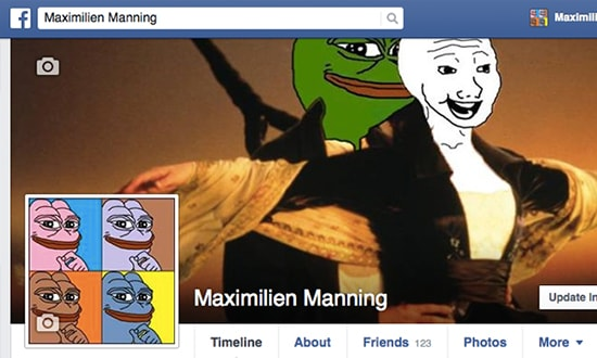 Cover image and profile picture of Maximillien Manning