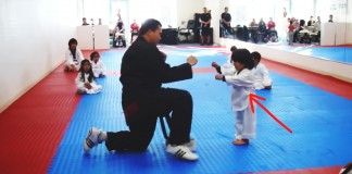 cute taekwondo champ