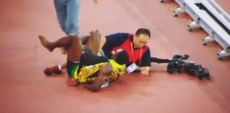 usain bolt accident