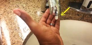 racist faucet