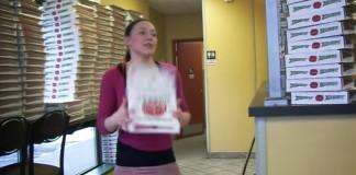 pizza box folder