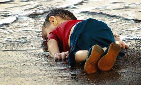 drowned syrian kid